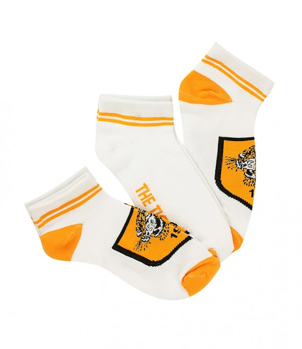 Trainer Socks 3 Pack White