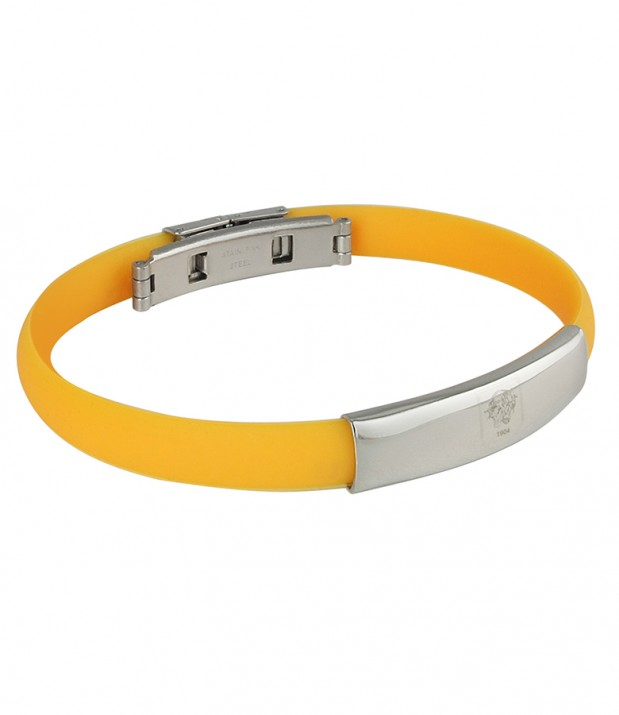 Stainless Steel/Silicone Bracelet