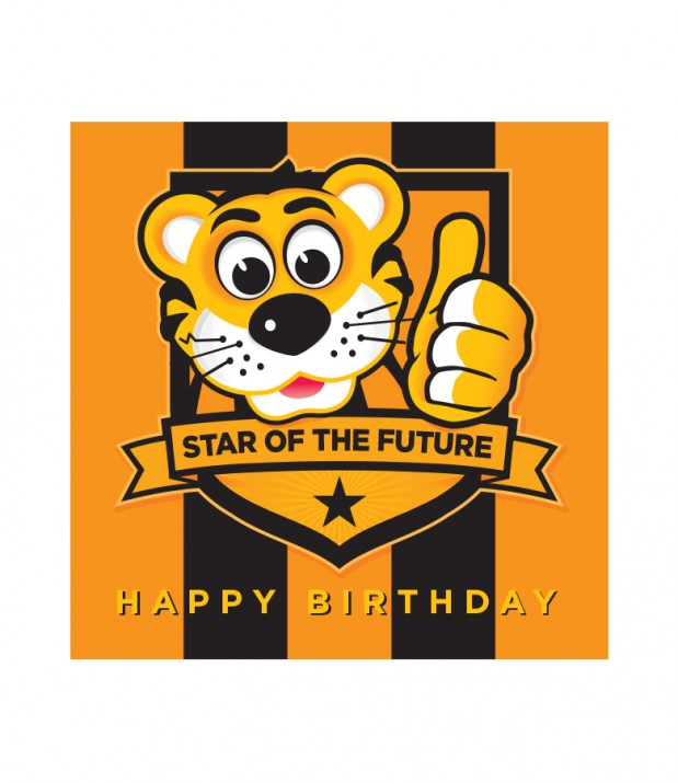 Happy Birthday Future Star Card