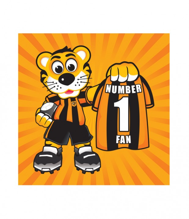 No 1 Fan Roary Card