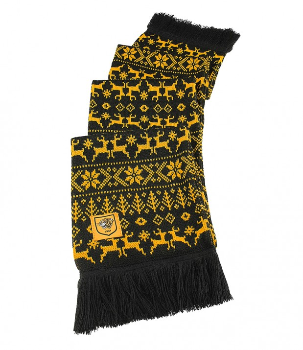 Winter Wonderland Jacquard Scarf