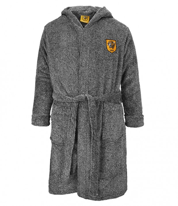 Junior Hooded Fleece Robe