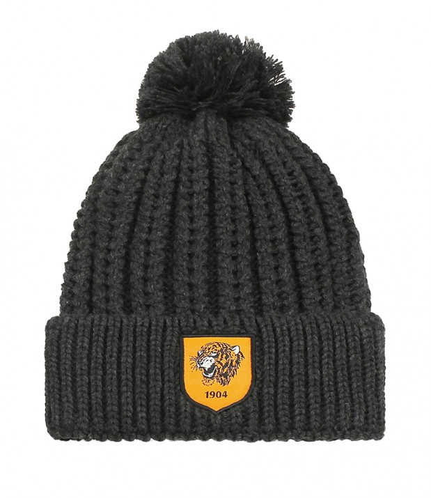 Loose Knit Bobble Hat