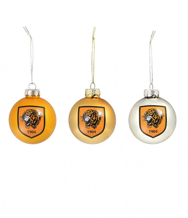 Classic Baubles - 3 Pack