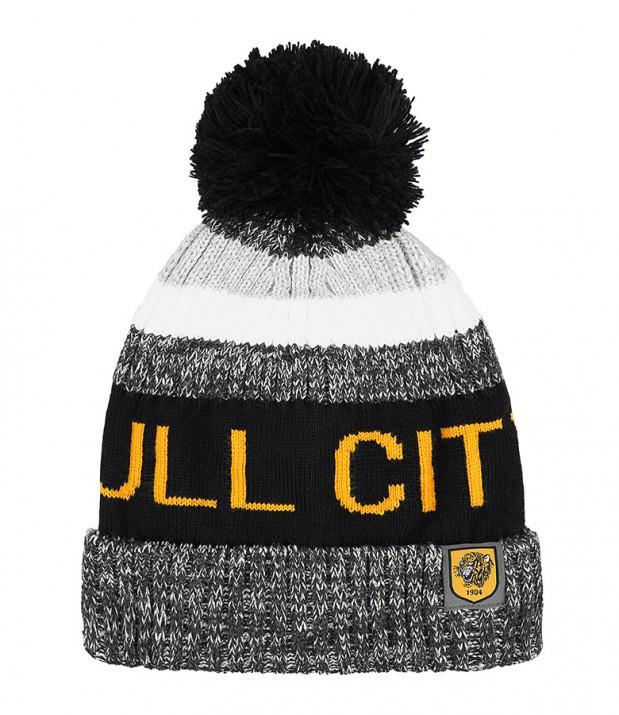 f9baf5ad4ea Hull City Chunky Knit Bobble Hat