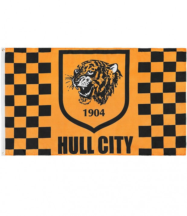 Hull City Crest Flag