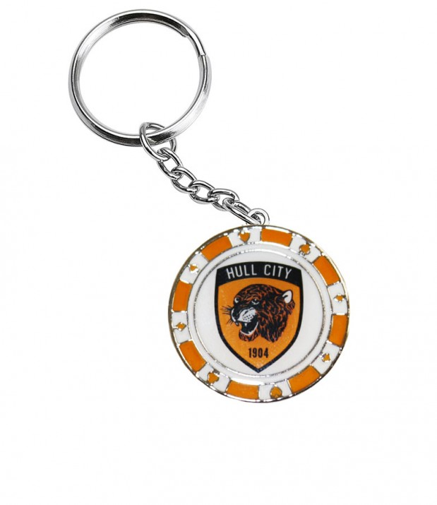 Poker Chip Keyring