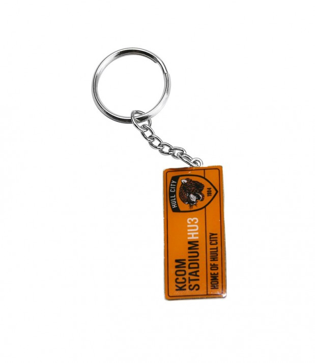 NEW Street Sign Keyring