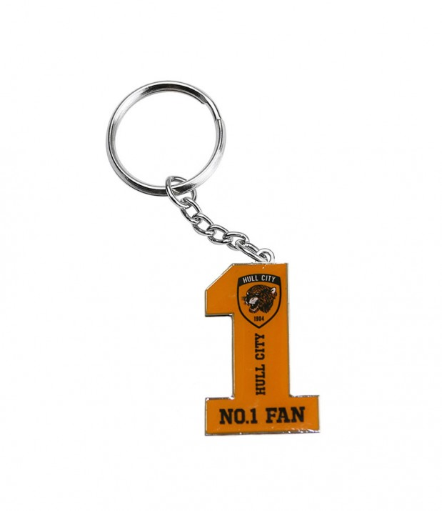 No1 Fan Keyring