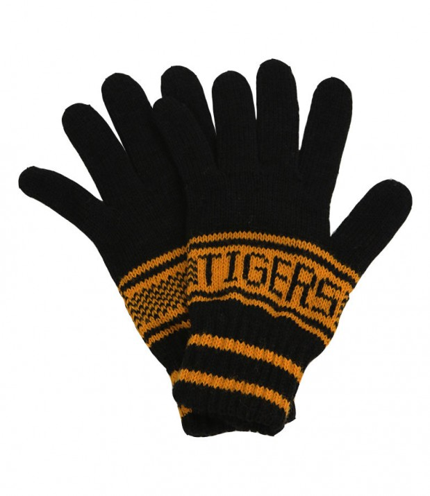 Jacquard Gloves Black/Amber