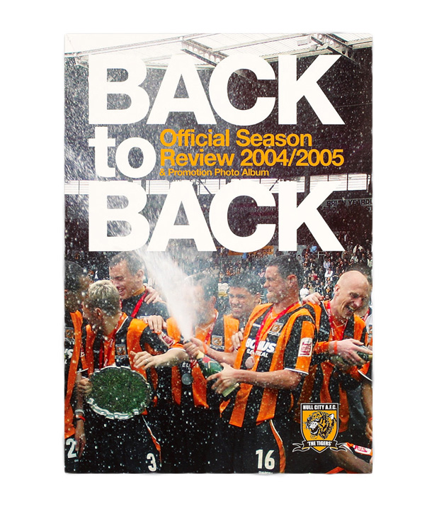 Back To Back Season Review Book 04/05