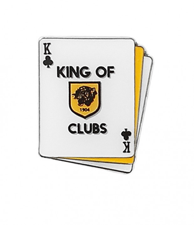 King of Clubs Badge