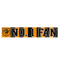 No1 Fan Car Sticker