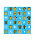 Birthday Shirts Card