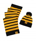 Kids Striped Hat & Scarf Set