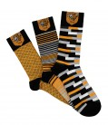 Patterned Dress Socks 3 Pack