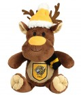Hat and Scarf Reindeer Soft Toy