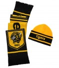 Junior Jacquard Hat & Scarf Set
