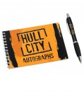 Hull City Autograph Book and Pen