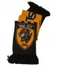 Check Jacquard Scarf New Crest