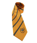 Amber Stripe Tie Polyester