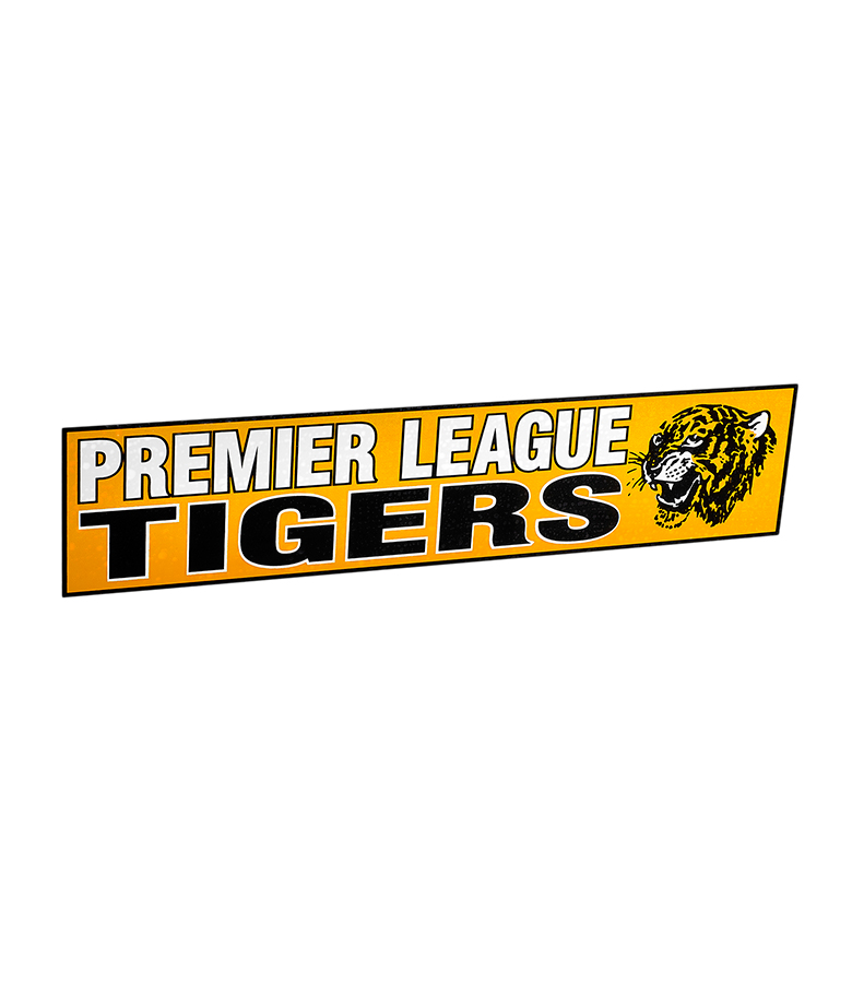 Premier League Tigers Sticker