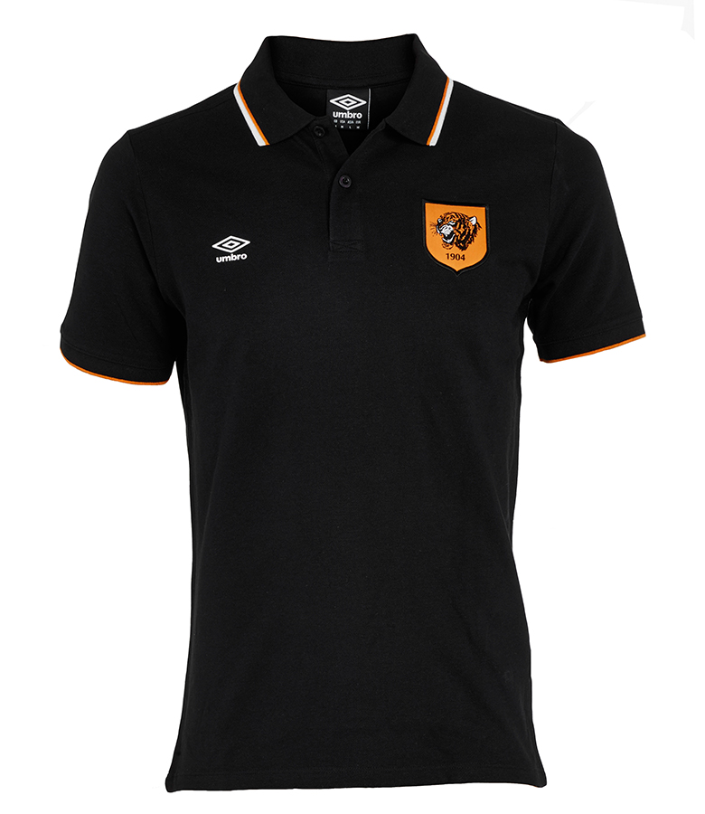 Adult Umbro Tipped Pique Polo