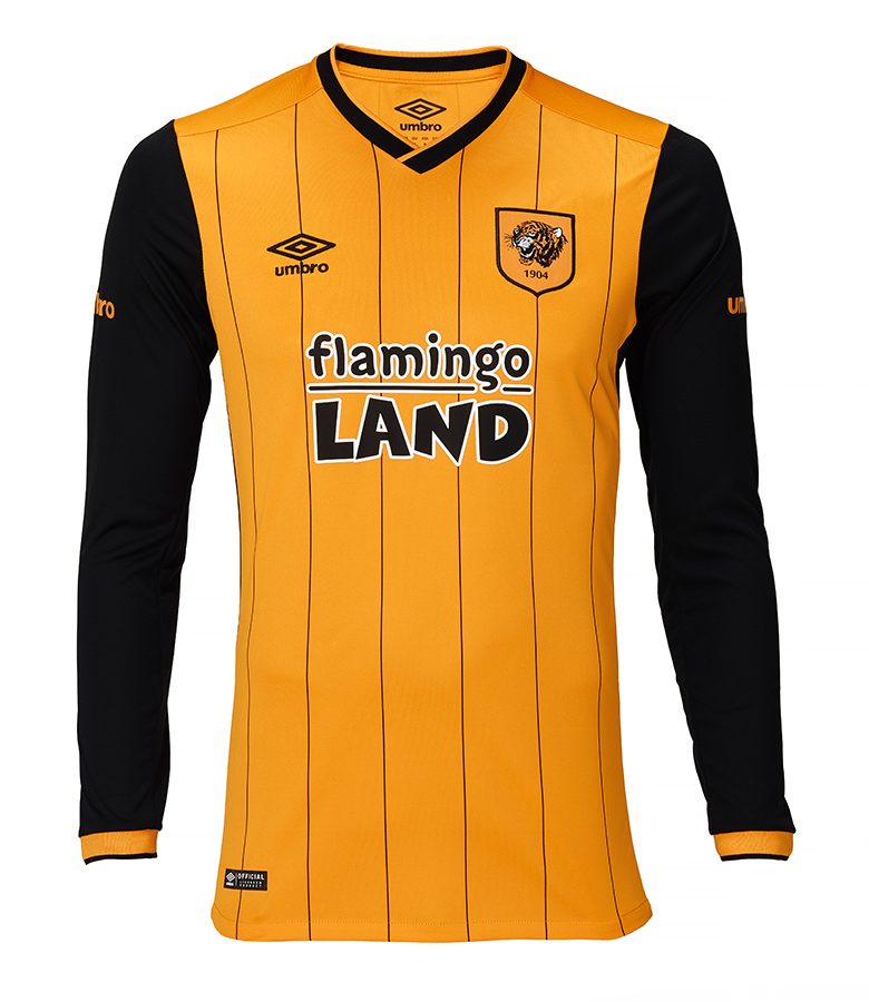 Junior Home Shirt Long Sleeved 15/16