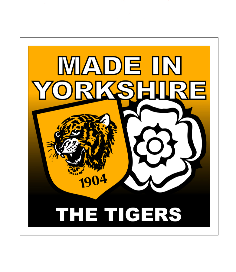 Vinyl Adhesive Made in Yorkshire Sticker