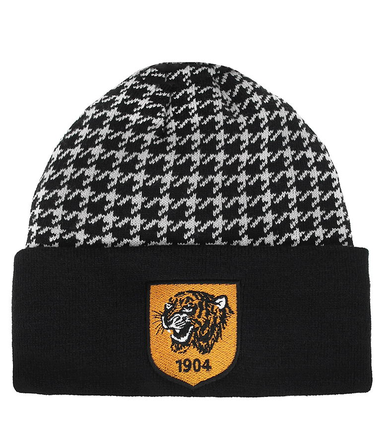 Hounds Tooth Ski Hat