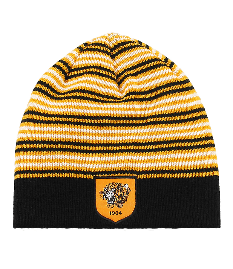 Multi Stripe Beanie Hat