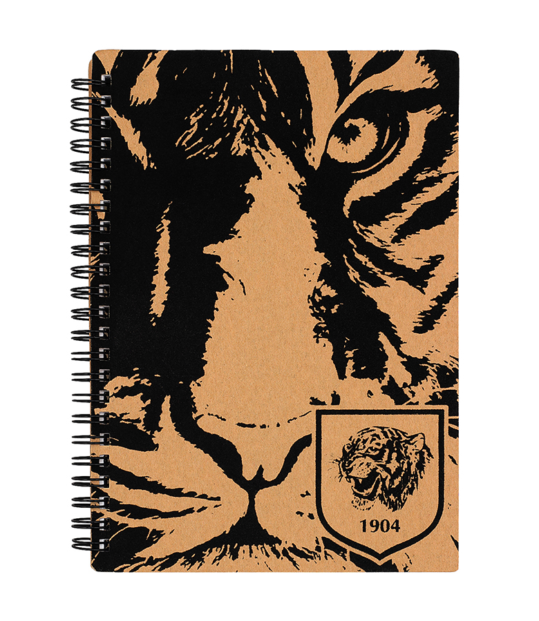 Flock Tiger Notebook