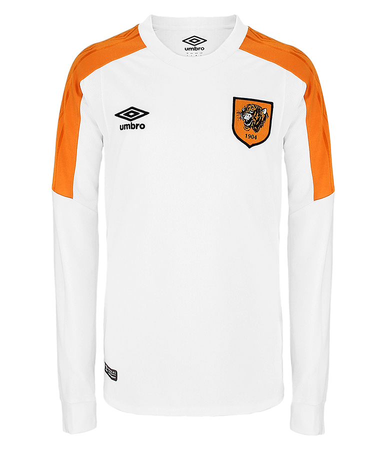 Junior Away Shirt Long Sleeved 2017/18