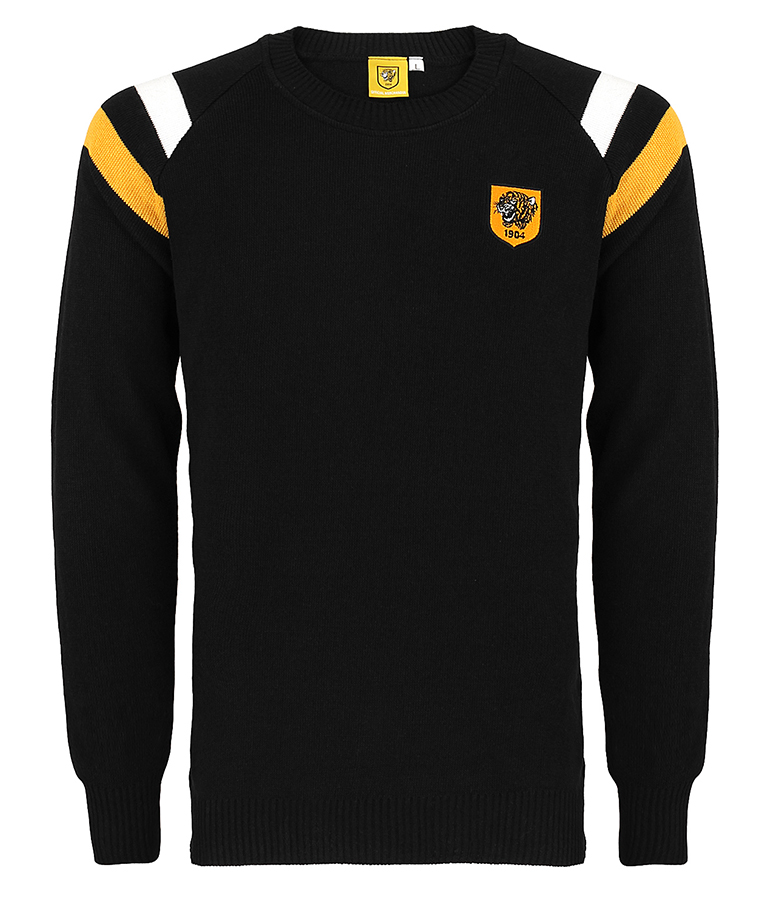 Shoulder Stripe Crew Jumper