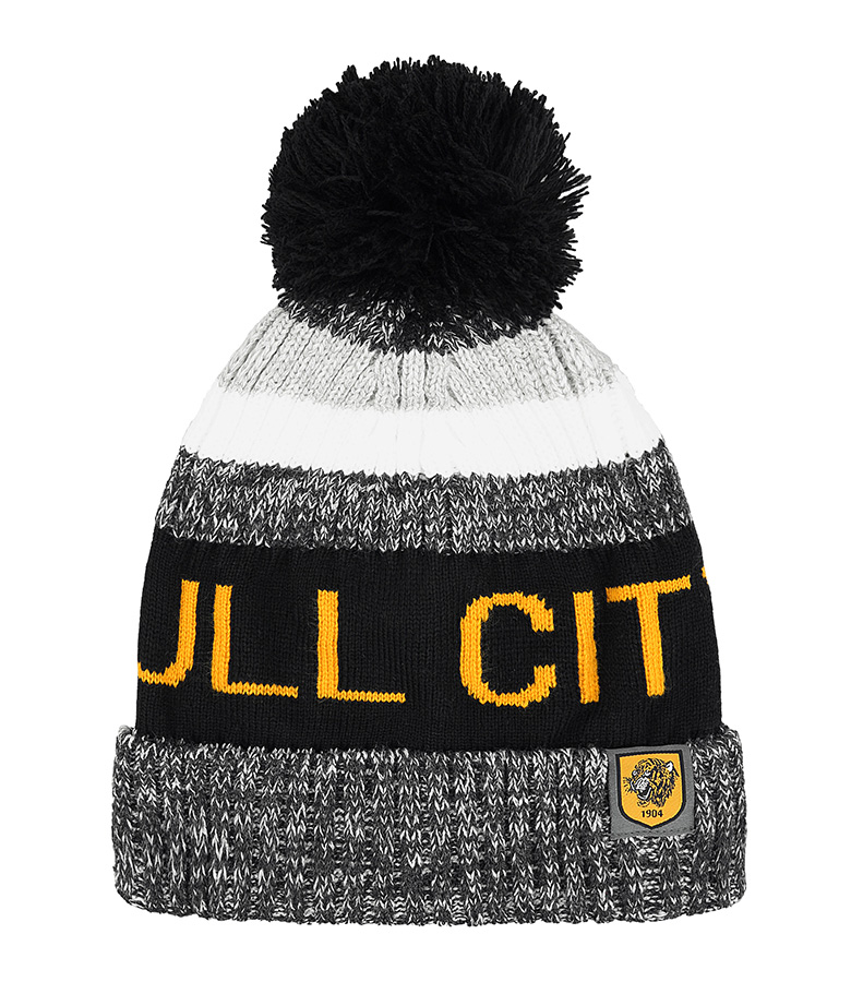 Hull City Chunky Knit Bobble Hat