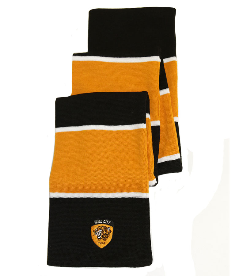 3 Stripe Bar Scarf New Crest