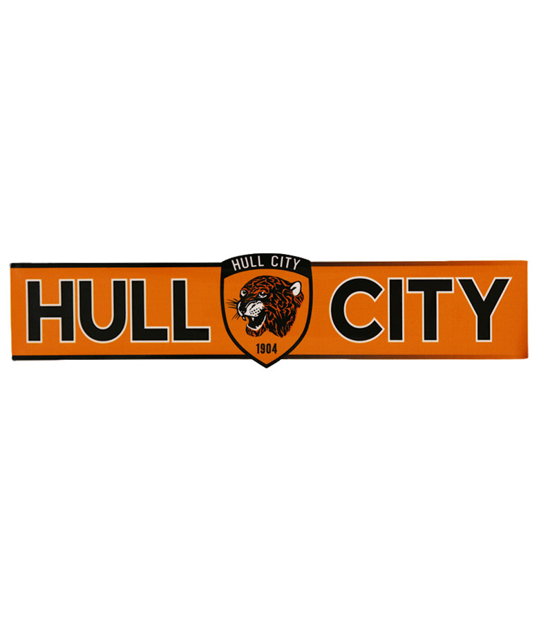 Hull City Car Sticker