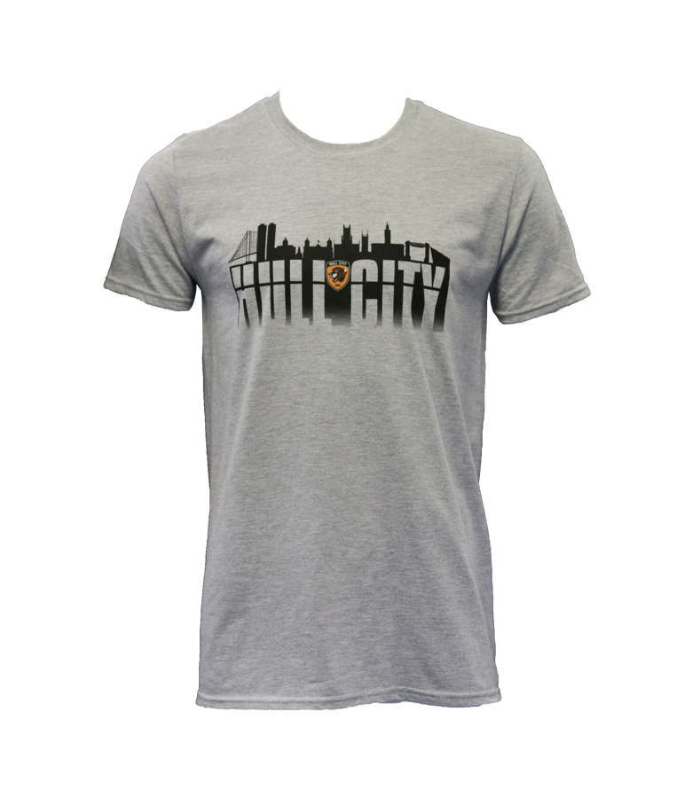 Hull City Skyline T Shirt