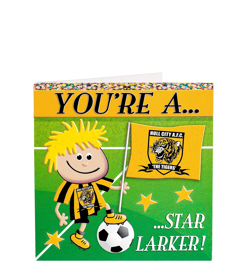 You're A Star Larker Card