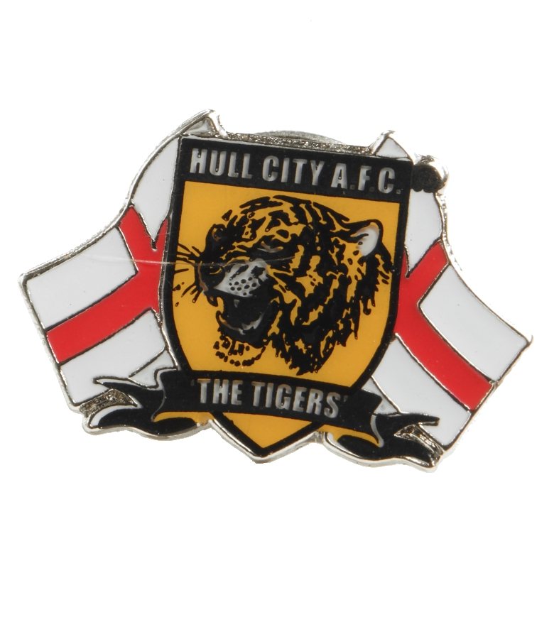 Hull City/England Badge