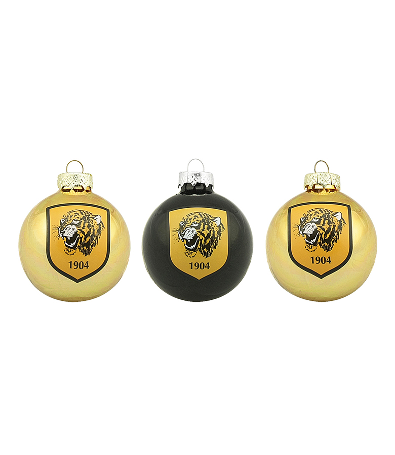 Christmas Baubles - 3 Pack