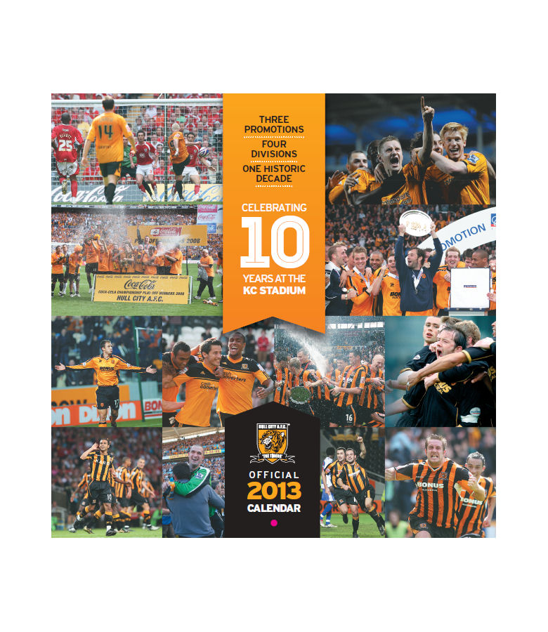 Calendar 2013 - Special 10 Years at the KC Edition