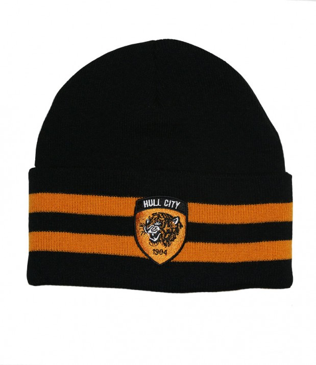 Bronx Hat Black (Amber Stripe)