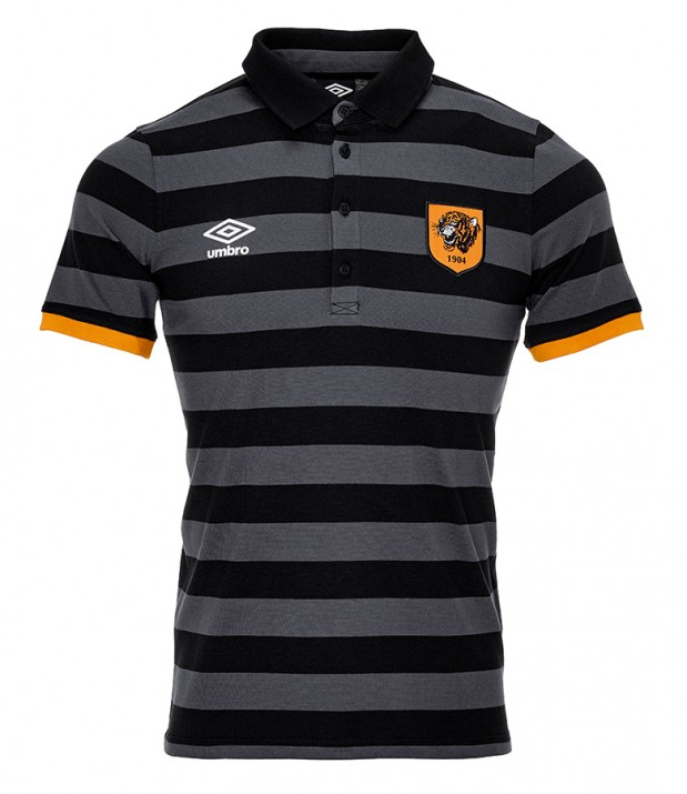 Adult Training Striped Polo Shirt 2016/17